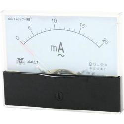 Unique Bargains Analog Panel Ammeter AC 0 - 20mA Measuring Range 1.5 Accuracy 44L1