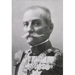 Posterazzi DPI1862199 King Peter I of Yugoslavia 1844 to 1921 From the Book the Year 1912 Illustrated Published London 1913 Poster Print, 11 x 17