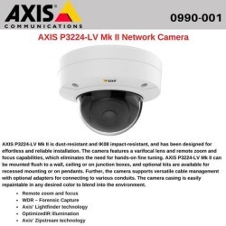 AXIS P3224-LV Network Camera - Monochrome, Color