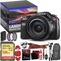 Leica V-LUX (Typ 114) Digital Camera - Master Landscape Photographer Kit - Memory Card - Accessories (Reed)