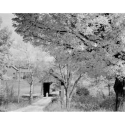 Posterazzi SAL255424066 USA New Hampshire Potter Place Covered Bridge Poster Print - 18 x 24 in.