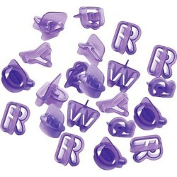 40x Alphabet Letter Number Fondant Cake Baking Mould Cookie Cutters