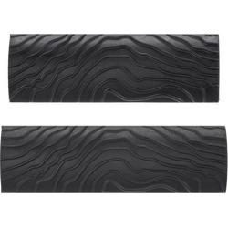 Wood Graining Rubber Grain Tool Pattern Wall Art Painting Decoration DIY Black MS8 2Pcs