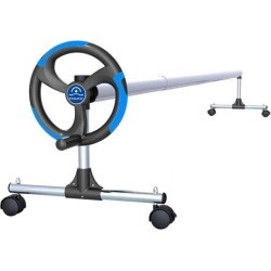 In-Ground Pool Solar Cover Aluminum Reel with Telescopic Tube and Wheels - 18ft