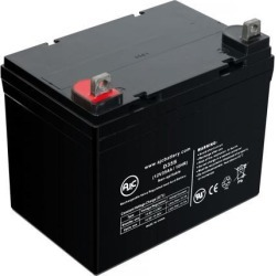 Golf Technologies Freedom 2000 12V 35Ah Motorcaddy and Golf Caddy Battery - This is an AJC Brand Replacement