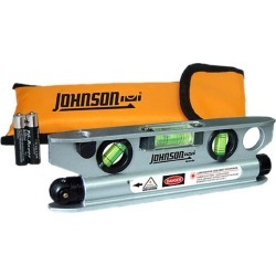 Johnson Level & Tool 40-6164 Magnetic Torpedo Laser Level