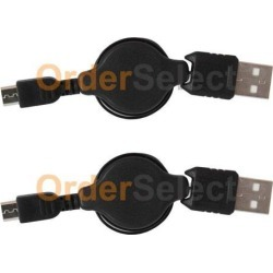 2 NEW Micro USB Cable for Android Samsung Galaxy S5 S6 S7 Edge Plus Active HOT