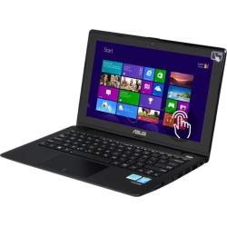 ASUS Laptop X200CA-DH21T (90NB02X6-M06050) Intel Pentium dual-core 2117U (1.80 GHz) 4 GB Memory 500 GB HDD Intel HD Graphics 11.6' Touchscreen.