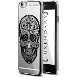 LUXENDARY MEXICAN SKULL DESIGN CHROME SERIES CASE FOR IPHONE 6/6S PLUS