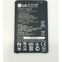 LG Li-ion Cell Phone Battery 2100mAh BL-41A1HB 3.8V 1ICP5/48/73 for Boost Mobile, Sprint, Virgin LG Tribute HD LS676, LG X STYLE L56VL Tracfone, LG