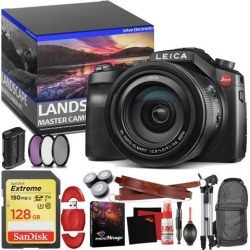 Leica V-LUX (Typ 114) Digital Camera - Master Landscape Photographer Kit - Memory Card - Accessories