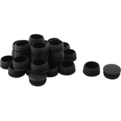 Unique Bargains 30 Pcs Antislip Plastic Round 37mm Dia Chair Foot Cover Table Furniture Leg Protector Black found on Bargain Bro India from Newegg Canada for $13.43