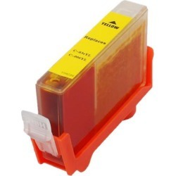 Green Project C-BCI3eY/6YR Reman Inkjet Canon BCI 3/6 Yellow