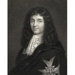 Posterazzi DPI1858619 Jean Baptiste Colbert 1619-1683 Controller General of Finance From 1665 Poster Print, 13 x 17