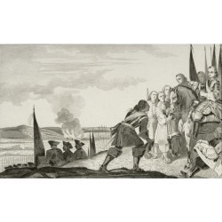 Posterazzi DPI1861208 Louis Xv 1710 to 1774 At the Battle of Fontenoi In 1745 From Histoire De France by Colart Published Circa 1840 Poster Print.