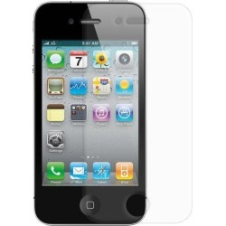 Amzer Anti-Glare Screen Protector with Cleaning Cloth for iPhone 4/ 4S