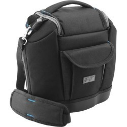 USA Gear DSLR Camera, Gadget and Accessories Bag with Waterproof EVA Bottom - Works With Canon PowerShot SX420 IS, EOS 5DS, Rebel T6s and More.