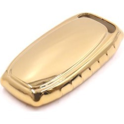 Gold Tone Remote Key Case Holder Shell Cover Fit For Audi A4L A6L A7 A8 S5