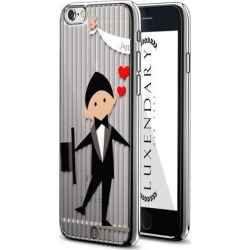 LUXENDARY JUST MARRIED GROOM DESIGN CHROME SERIES CASE FOR IPHONE 6/6S