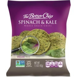 The Better Chip Spinach/Kale Chips
