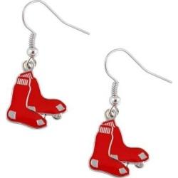MLB Boston Red Sox Logo Dangle Earring Set Charm Gift Red