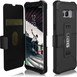 UAG Samsung Galaxy S8 [5.8-inch screen] Metropolis Feather-Light Rugged [BLACK] Military Drop Tested Phone Case