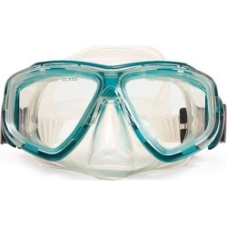 5.5' Green and Clear Newport Mask Swimming Pool Accessory for Teens