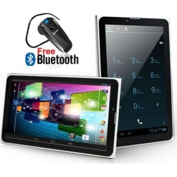 Indigi 7' Android 4.4 Tablet 3G SmartPhone 2-in-1 Factory UNLOCKED - Bluetooth Headset
