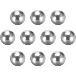 Precision 304 Stainless Steel Bearing Balls 9/64 Inch 3.6mm G5 10pcs