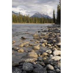 Posterazzi DPI1837140LARGE Mount Kerkeslin Jasper Alberta Canada Poster Print, Large - 22 x 34