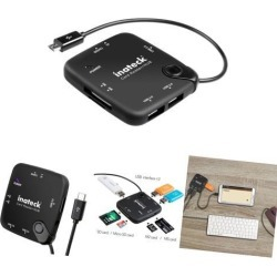 [OTG Hub & SD Card Reader] Inateck Multi-in-1 OTG Adapter Cable, TF SDHC Card.