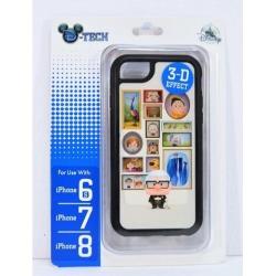 Disney Pixar Up Carl & Ellie 3-D Effect Apple Iphone 6S/7/8 Cellphone Case NEW