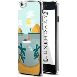 LUXENDARY TROPICAL SUMMER DESIGN DESIGN CHROME SERIES CASE FOR IPHONE 6/6S PLUS