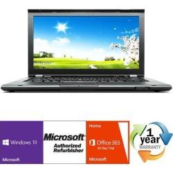 Recertified - Lenovo Thinkpad T430 Intel i5 Dual Core 2600 MHz 240Gig SSD 8GB DVD ROM 14.0' WideScreen LCD Windows 10 Professional 64 Bit Laptop.