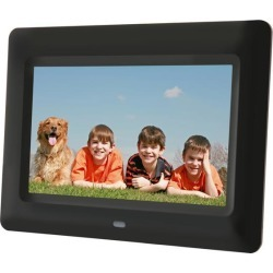 Aluratek ADPF07SF ADPF07SF 7' 800 x 600 Digital Photo Frame with Auto Slideshow found on Bargain Bro India from Newegg for $38.99