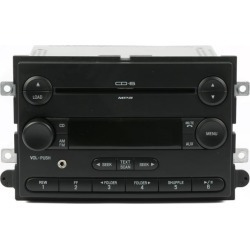 Recertified - Ford Fusion Mercury Milan 2007 AM FM 6 Disc mp3 Radio w Aux Input 7E5T-18C815-AB found on Bargain Bro India from Newegg Business for $245.00