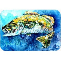 Bobby the Best Bass Glass Cutting Board Large MW1220LCB