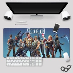 Dobacner Fortnite High Quality Mouse Pad Gamer Play Mats Large Gaming Mouse Pad Keyboard Pad PC Desk Pad (800 x 300 x 3 mm)