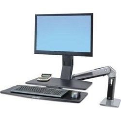 Ergotron WorkFit-A Sit-Stand Workstation with Worksurface+ - ERG24314026