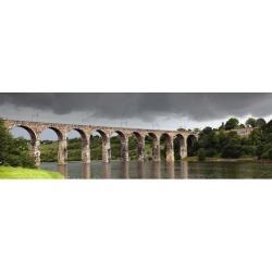 Posterazzi DPI1863193 Bridge Berwick - Berwick Northumberland England Poster Print, 38 x 12