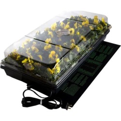 Jump Start, CK64050 Germination Station w/Heat Mat, Tray, 72-Cell Pack, 2' Dome