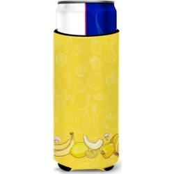 Fruits and Vegetables in Yellow Michelob Ultra Hugger for slim cans BB5134MUK