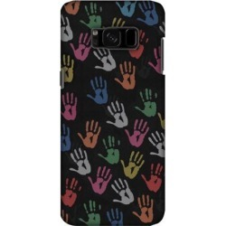 Designer Stylish Printed Graphic Handcrafted Durable Lightweight Snap On Shockproof Hard Shell Skin Back Cover Carrying Case for Samsung Galaxy S8