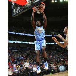 Posterazzi PFSAARR16901 Kenneth Faried 2014-15 Action Sports Photo - 8 x 10 in.