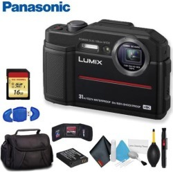 Panasonic Lumix Digital Camera (Black) Deluxe Bundle