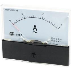 Analog Panel Ammeter AC 0 - 3A Measuring Range 1.5 Accuracy 44L1