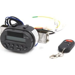 MT729 Motorcycle Handlebar Mount Audio Radio System MP3 Player Remote Control