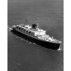 Posterazzi SAL25544319 High Angle View of a Cruise Ship in the Sea Poster Print - 18 x 24 in.