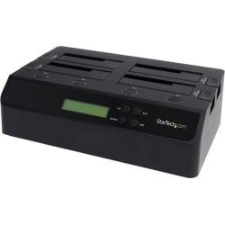 StarTech SATDOCK4U3RE 4 Bay USB 3.0 eSATA to SATA Standalone 1:3 HDD Hard Drive Duplicator Dock found on Bargain Bro India from Newegg for $458.99