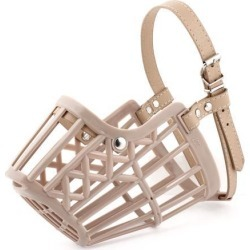 Unique Bargains 50cm-56cm Adjustable One Pin Fastener Strap Mesh Basket Cover for Dog found on Bargain Bro Philippines from Newegg Canada for $9.08